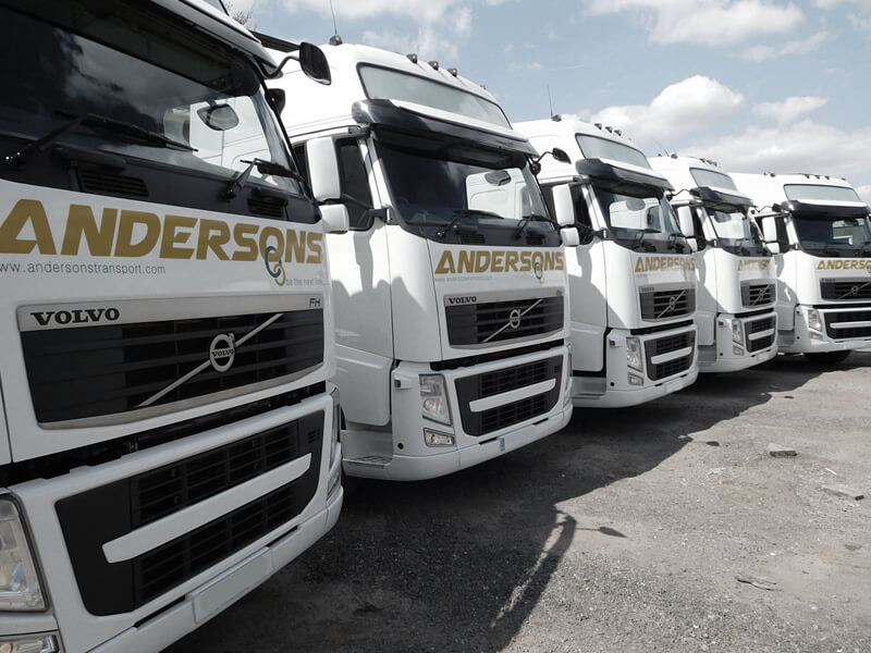 Andersons Transport Volvo FH Lorry